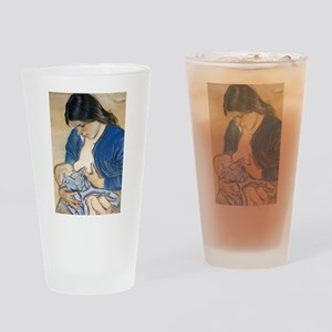 Motherhood Drinking Glass