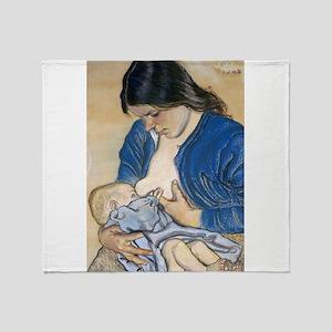 Motherhood Throw Blanket