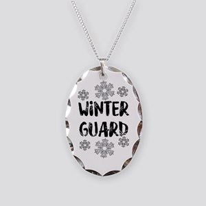 Winter Guard Snowflake Necklace
