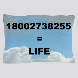 18002738255 = LIFE Pillow Case