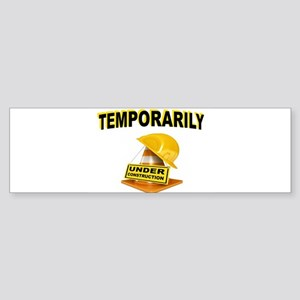 CONSTRUCTION Bumper Sticker