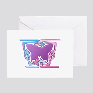 Celtic Butterfly Greeting Card