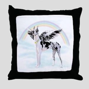 Great Dane Harle Angel Throw Pillow