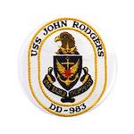USS JOHN RODGERS Button
