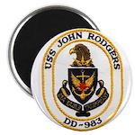 USS JOHN RODGERS Magnet