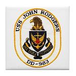 USS JOHN RODGERS Tile Coaster