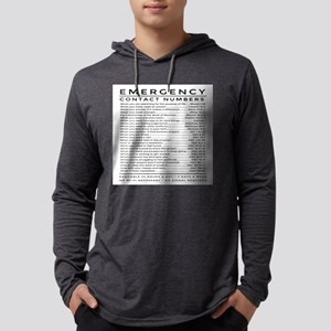 bible emergency number Long Sleeve T-Shirt