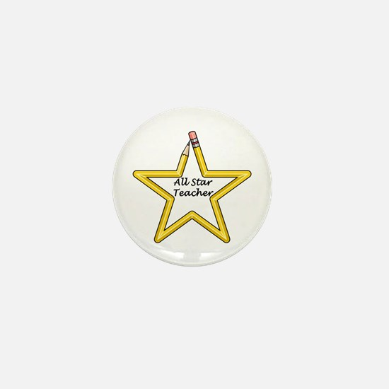 Gifts for Teachers Star Mini Button