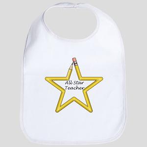 Gifts for Teachers Star Bib