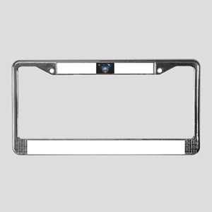 A Universe in the Mind License Plate Frame