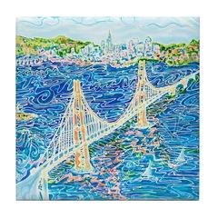 Golden Gate San Francisco Tile Coaster