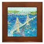 Golden Gate San Francisco Framed Tile