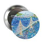 "Golden Gate San Francisco 2.25"" Button (100 pack)"