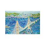 Golden Gate San Franci Rectangle Magnet (100 pack)