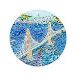 "Golden Gate San Francisco 3.5"" Button (100 pack)"
