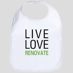 Live Love Renovate Bib