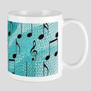 Music notes Mugs