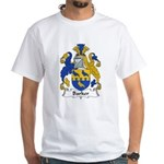 Barker Family Crest White T-Shirt