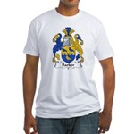 Barker Family Crest Fitted T-Shirt