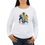 Barker Family Crest Women's Long Sleeve T-Shirt