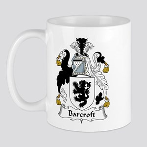 Barcroft Family Crest  Mug