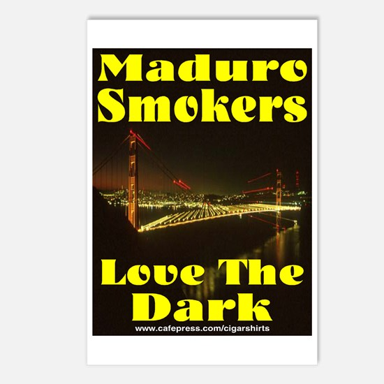 Maduro Smokers Cigar Postcards (Package of 8)