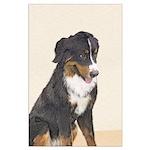 Bernese Mountain Dog Large Poster