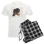 Bernese Mountain Dog Men's Light Pajamas