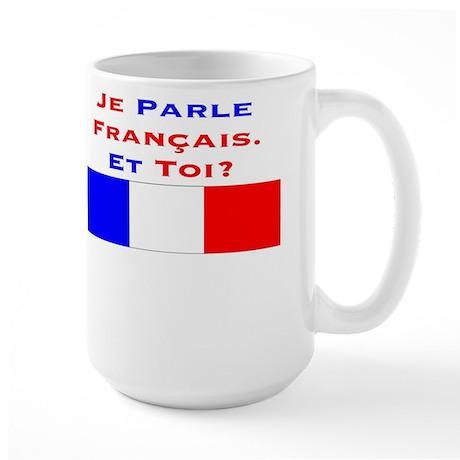 JeParleFrançais/Large Mug