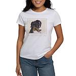 Bernese Mountain Dog Women's Classic White T-Shirt