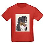 Bernese Mountain Dog Kids Dark T-Shirt