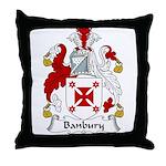 Banbury Family Crest  Throw Pillow