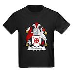 Banbury Family Crest  Kids Dark T-Shirt
