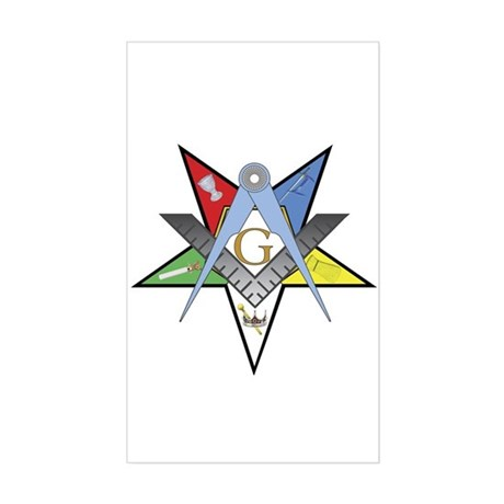 OES Past Patron Sticker (Rectangle)