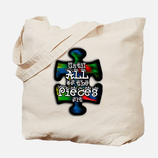 Cute Autism piece Tote Bag