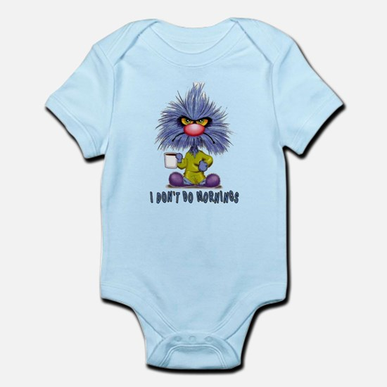 Zoink Morinings Infant Bodysuit