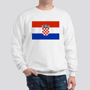 Croatian Flag Sweatshirt