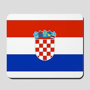 Croatian Flag Mousepad