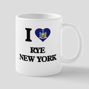I love Rye New York Mugs