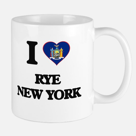 I love Rye New York Mugs