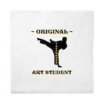 Original Art Student - Taekwondo Queen Duvet