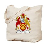 Audley Family Crest  Tote Bag