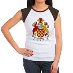 Audley Family Crest  Women's Cap Sleeve T-Shirt