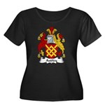 Audley Family Crest  Women's Plus Size Scoop Neck