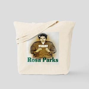 Rosa Parks Sepia Retro Tote Bag