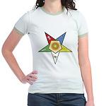 OES Associate Matron Jr. Ringer T-Shirt