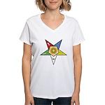 OES Associate Matron Women's V-Neck T-Shirt