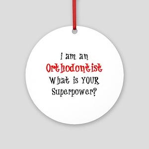 orthodontist Ornament (Round)