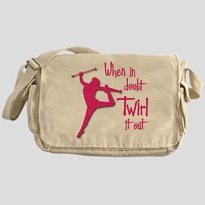 TWIRL IT OUT Messenger Bag