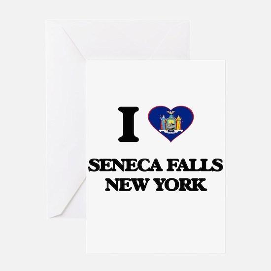 I love Seneca Falls New York Greeting Cards